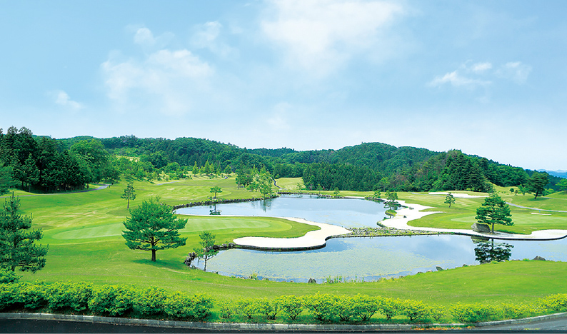 ゴルフで遊ぶ